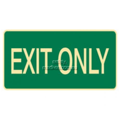 View Brady 841146 Exit Evacuation Sign  details.