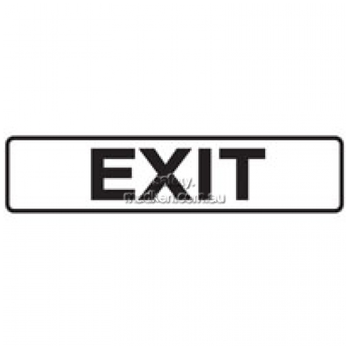 View Brady 842404 Luminous Exit Sign Self Adhesive  details.