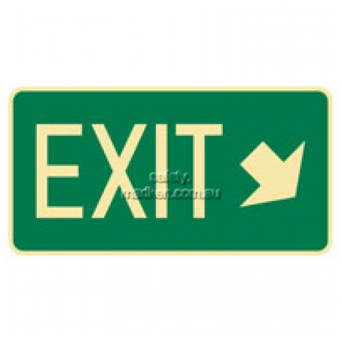 View Exit Arrow Bottom Right Sign details.