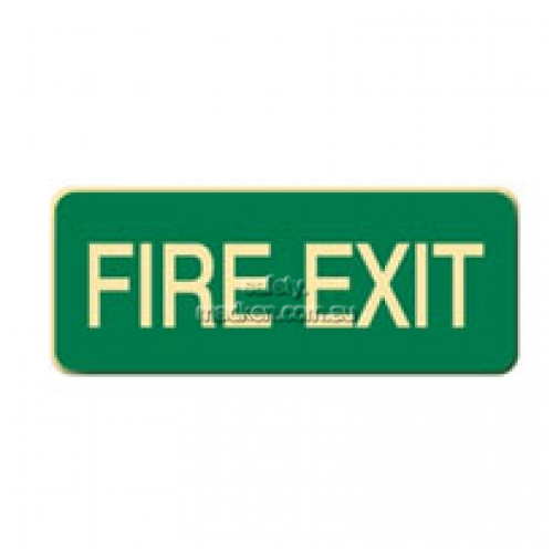 View Fire Exit Floor Sign details.