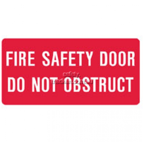 View Brady 84805 Fire Safety Door Sign details.