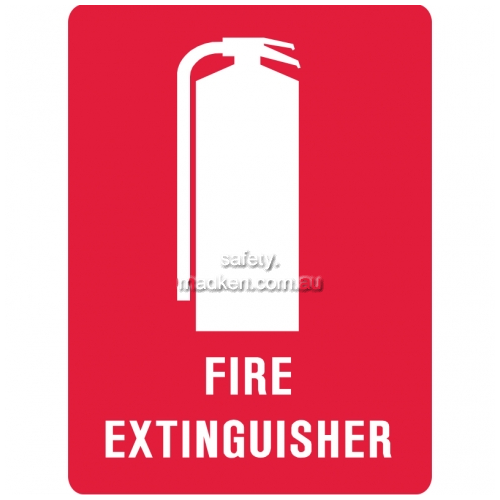 View Brady Fire Extinguisher Sign details.