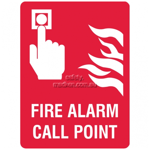View Fire Alarm Call Point Sign details.