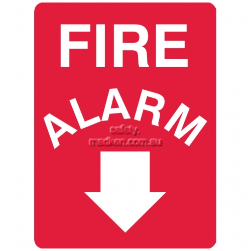 View Fire Alarm Sign details.