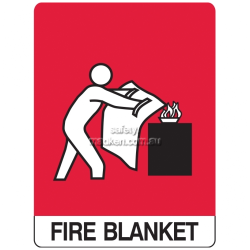 View Fire Blanket Sign details.