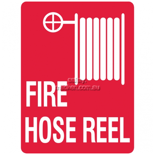 Fire Hose Reel with Symbol