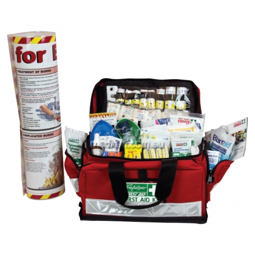 View National Workplace Burns Large Portable Soft Case Kit details.