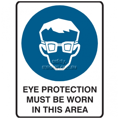 View Eye Protection Must Be Worn In This Area details.