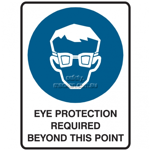 View Eye Protection Required Beyond This Point details.