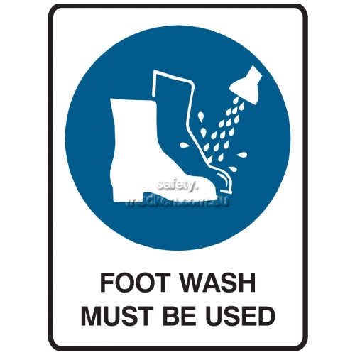 View Foot Wash Must Be Used details.