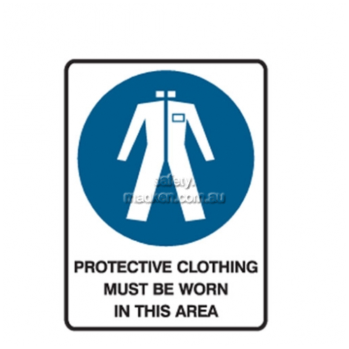 View Protective Clothing Must Be Worn In This Area details.