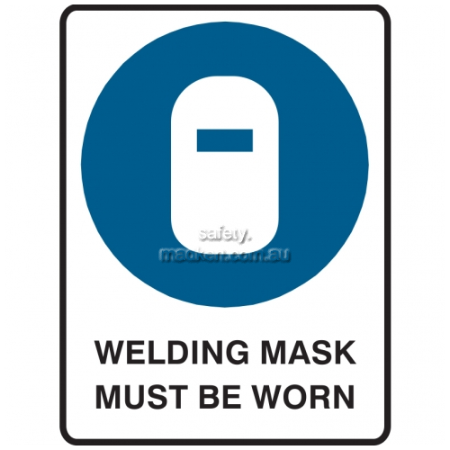 View Welding Mask Must Be Worn details.