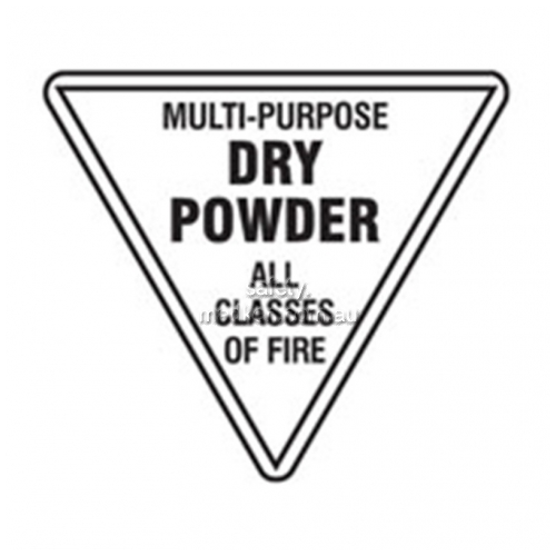View Dry Powder Fire Extinguisher Sign details.