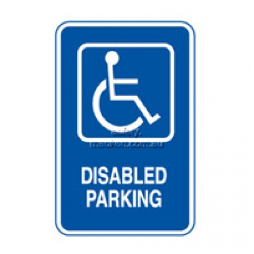 View Disabled Parking Sign details.