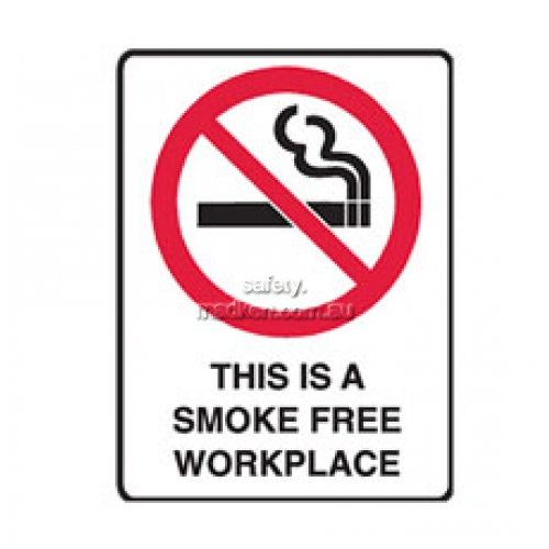 View Brady 840665	Smoke Free Workplace Prohibition details.