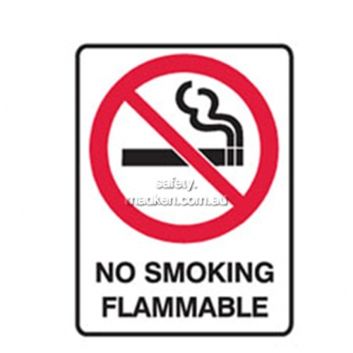 View Brady 840675 No Smoking Flammable Prohibition details.