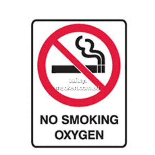 View Brady 840683	 No Smoking Oxygen Prohibition details.