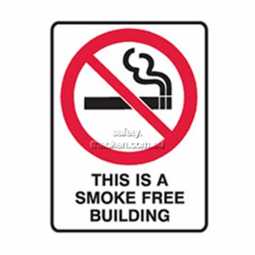 View Brady 841012	Smoke Free Building Prohibition details.