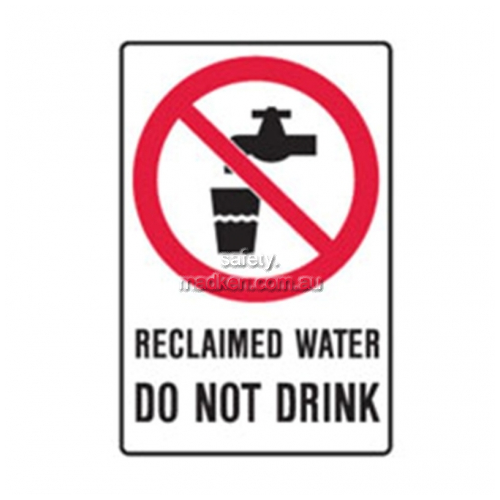 View Brady 846082	Reclaimed Water Do Not Drink Prohibition details.