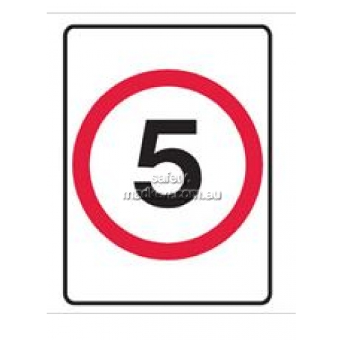 Speed Limit Sign - 5