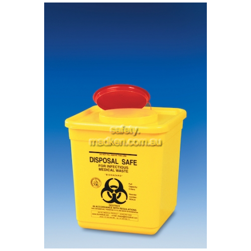 RE4LS Waste Disposal ConatinerSquare 4.75L