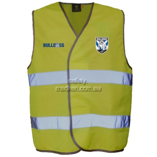 Vest with Reflective Tape Yellow