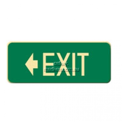 View Brady 843308 Exit Floor Signs Self Adhesive  details.